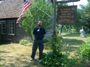 Me at the Fairbanks House Historic Site